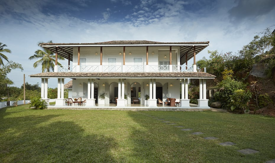 Luxury villa in Galle, Sri Lanka: Pooja Kanda Villa