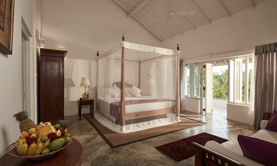 Pooja Kanda Villa master bedroom luxury villa Galle Sri Lanka