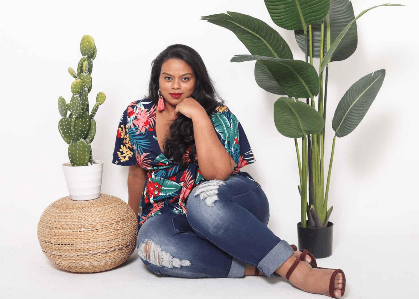 Slay the fashion game with stylish plus-size clothing for curvy women