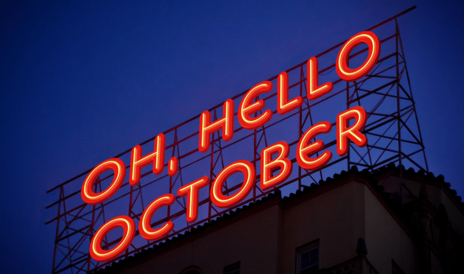 October crept up on us with Halloween, stylish loots, artsy festivals and a mind-blowing show