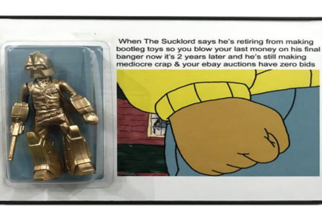 The Sucklord   Kult Gallery   Art Exhibition   Bootleg Toymaker