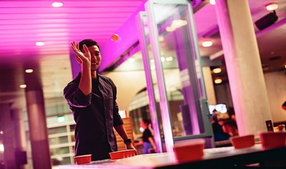 October events: Overeasy's beer pong showdown