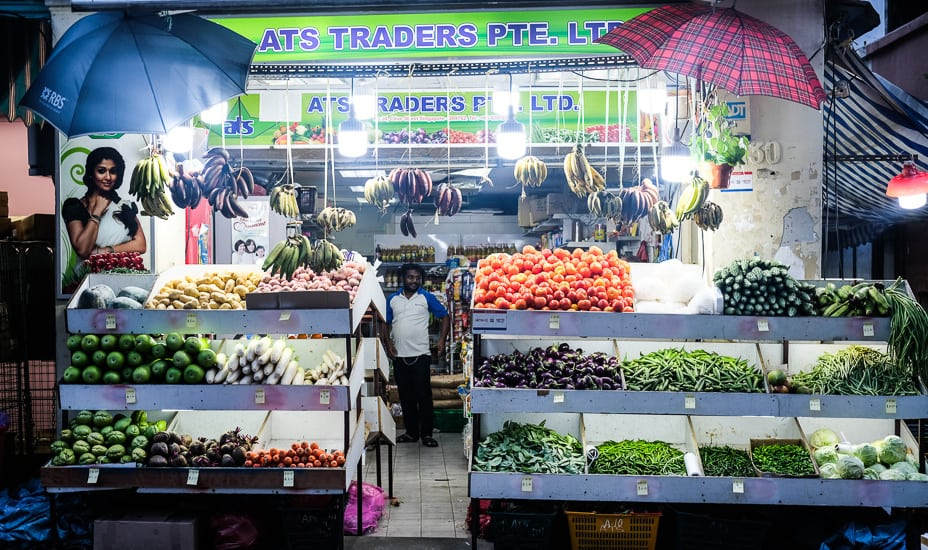 Asia Photo Collective street photography Singapore Series Little India vegetable stall