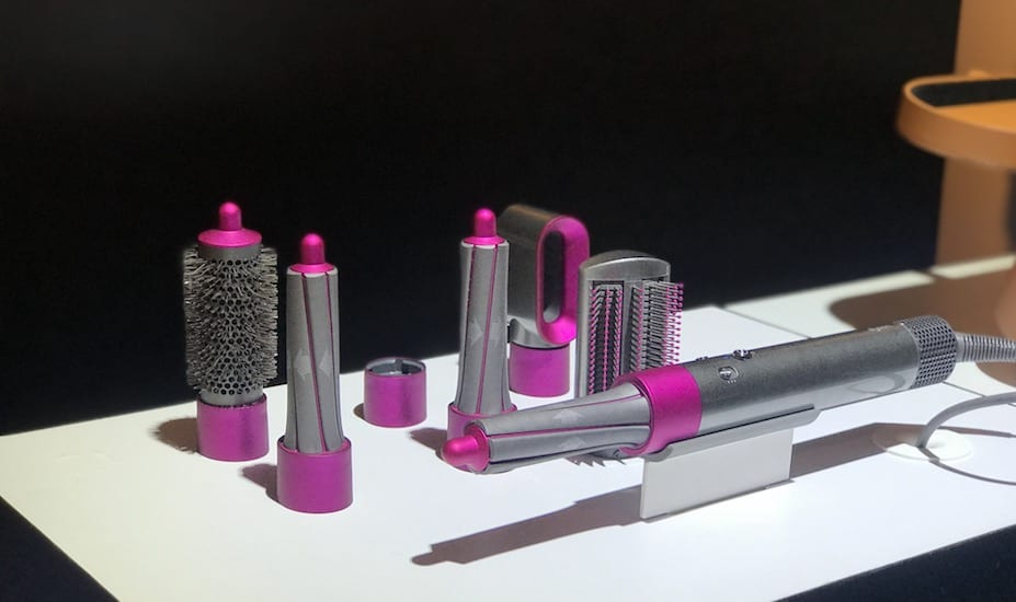 Dyson Airwrap hair styling tool volume and shape set