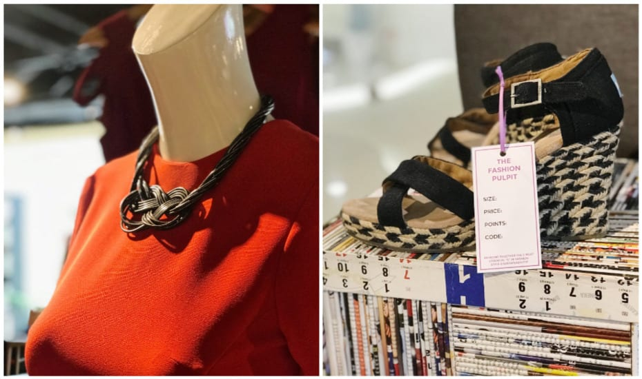Accessories and shoes at The Fashion Pulpit: Singapore's first clothes swapping boutique