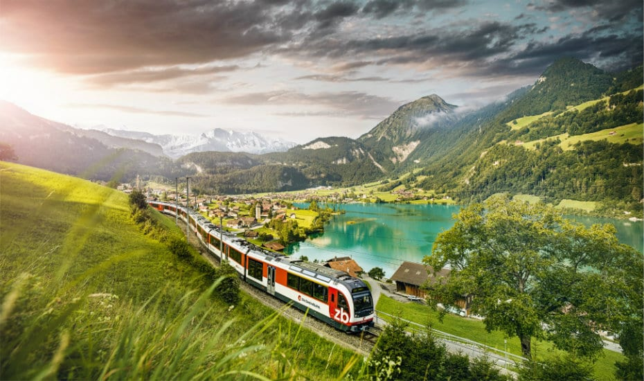 The hills are alive: take the scenic route and explore Switzerland by public transport