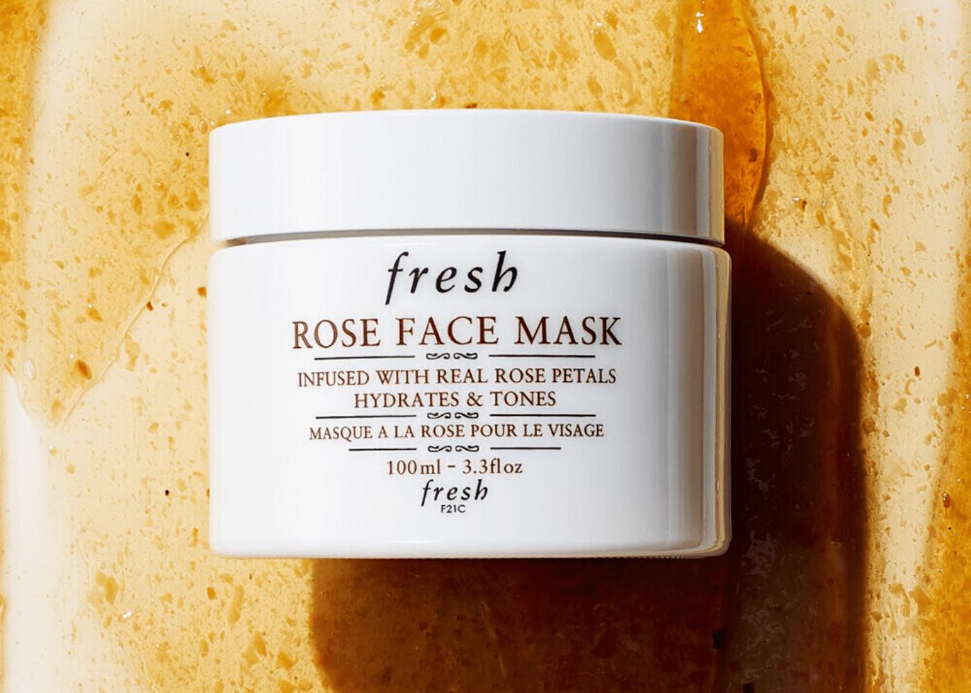 Fresh's Rose Face Mask