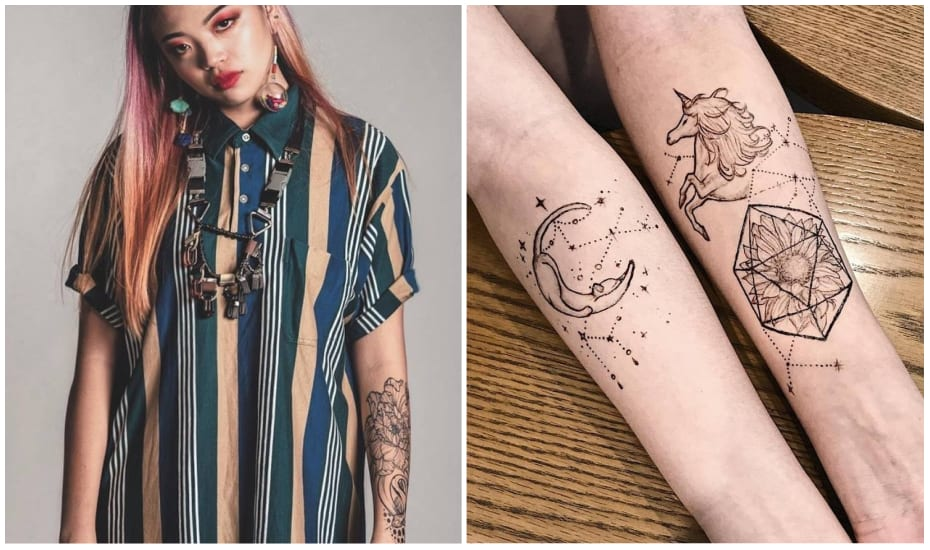 Henndrawn | Temporary tattoos made from Jagua ink