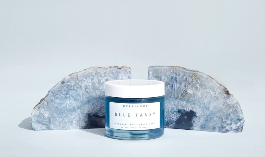 Herbivore Blue Tansy Face mask