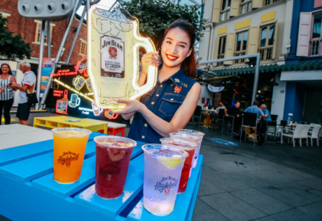 Jim Beam Highball | Honeycombers Singapore