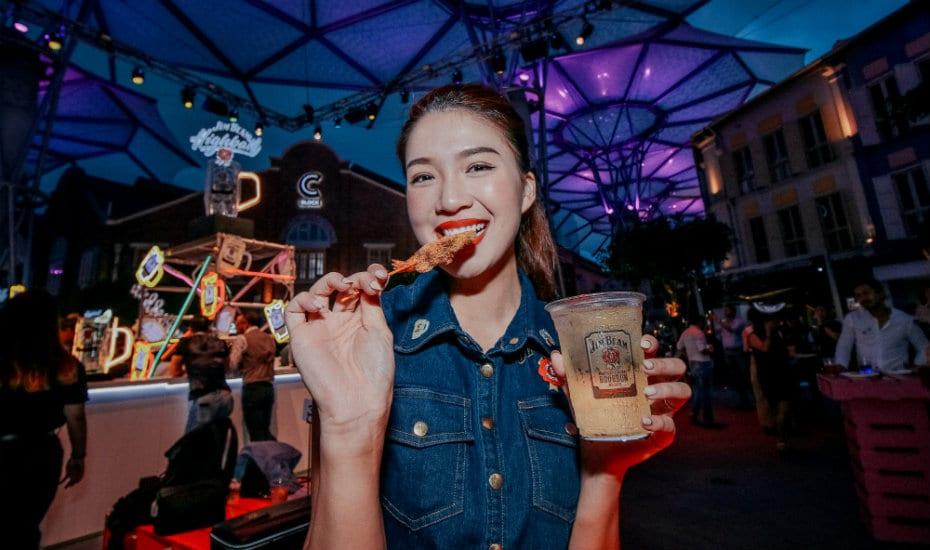 Jim Beam Food | Honeycombers Singapore