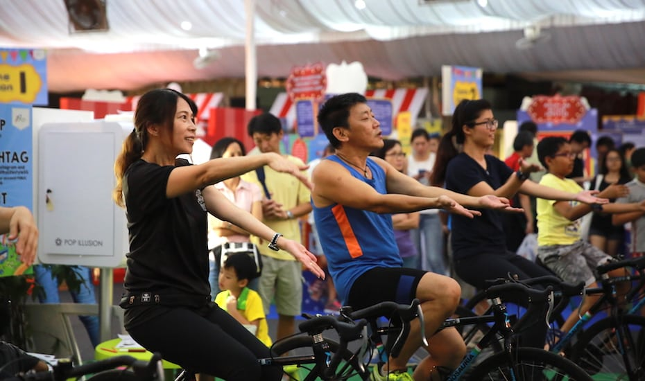 Healthy Lifestyle Festival SG Roadshow at Heartbeat@Bedok