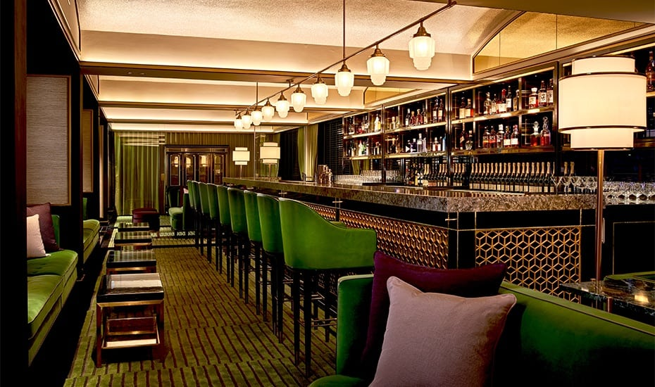 Old world glamour at The Lounge at Madame Fan, The NCO Club Singapore