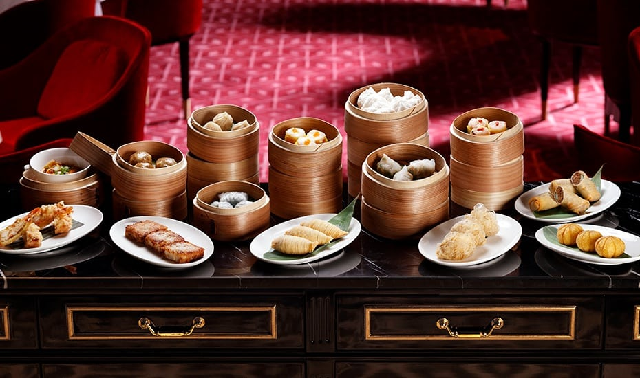 Cantonese cuisine at Madame Fan restaurant at The NCO Club