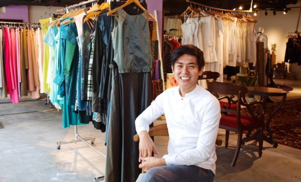 Raye Padit, founder of The Fashion Pulpit, is an advocate for clothes swapping and reducing consumption