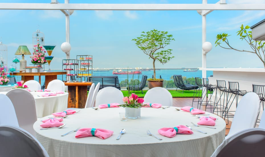 Sky Garden   Party venues in Singapore