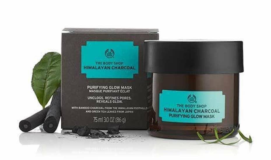 Body Shop Himalayan Charcoal Face mask
