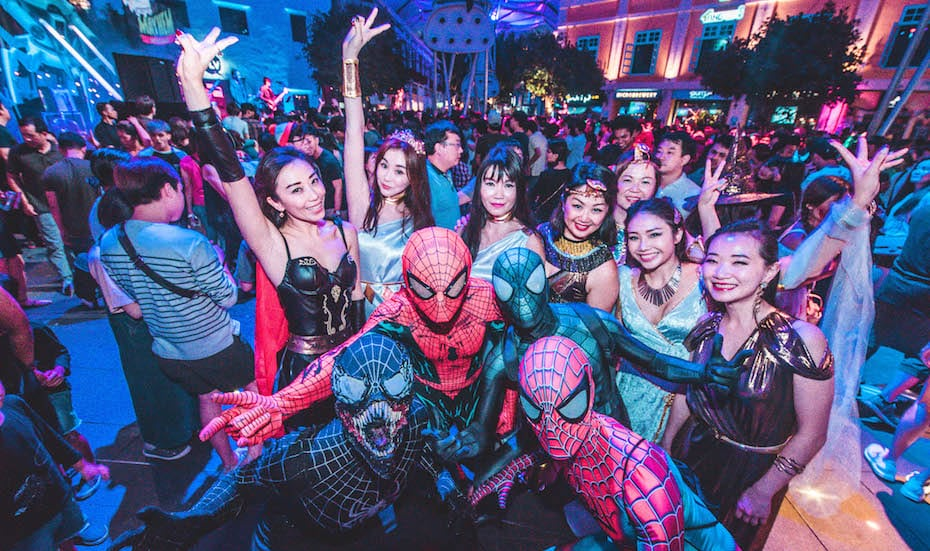 Clarke Quay Halloween 2018 Presents Tales of the River