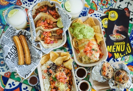 Burritos, tacos and all the authentic Mexican favourites at Guzman y Gomez