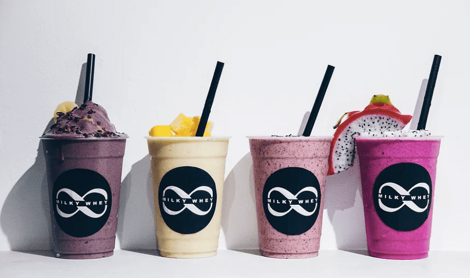 Cafes for the best smoothies and smoothie bowls in Singapore: Milky Whey