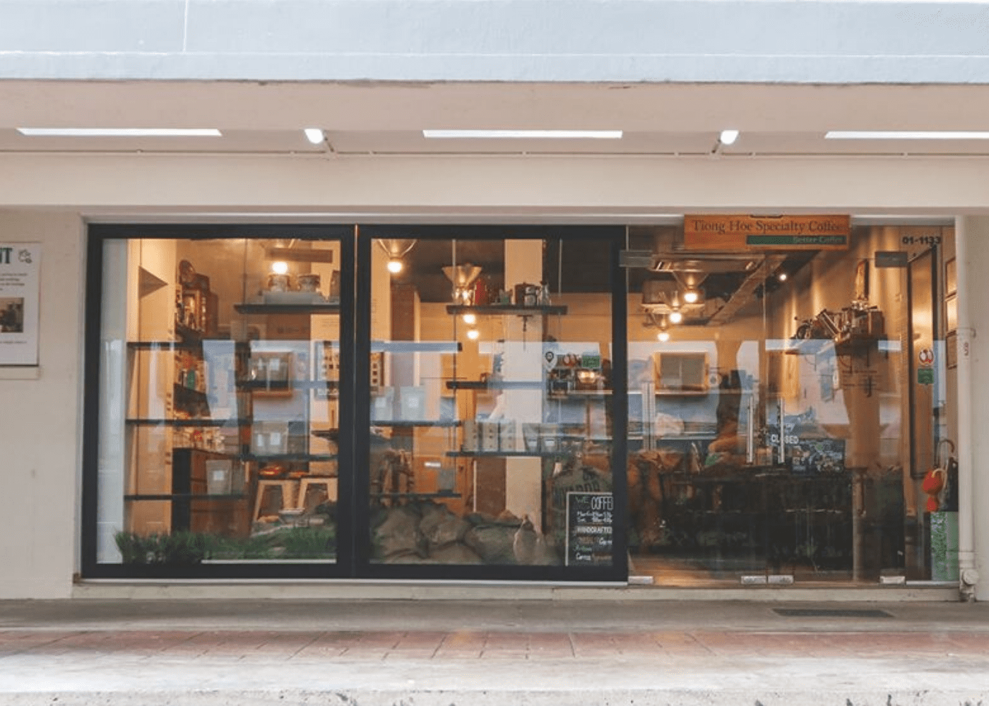 Tiong Hoe Speciality Coffee | Queenstown | Cool cafes in Singapore