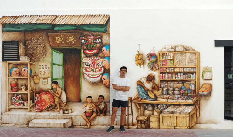 Hanging with street artist Yip Yew Chong: drawing inspo from Singapore's past, friendly faces and oral history