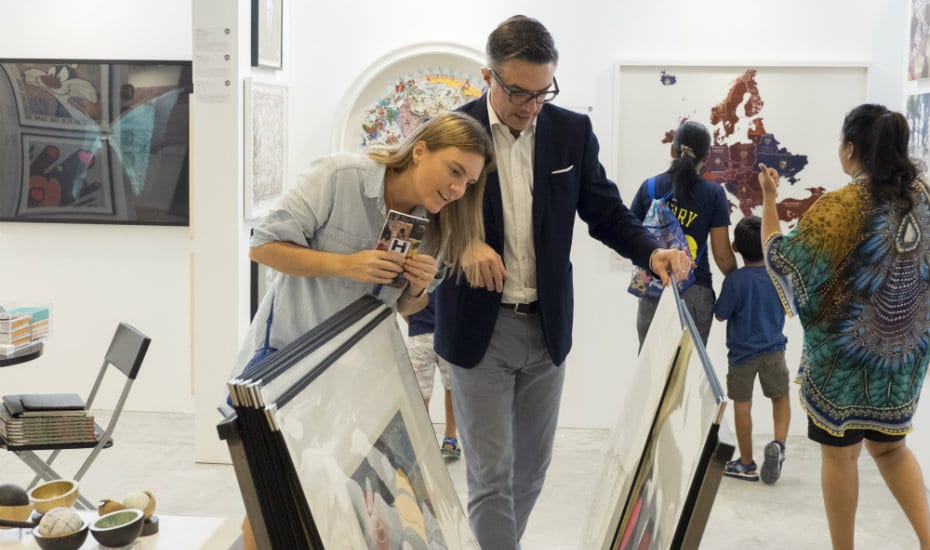 No snobs in sight: The Affordable Art Fair welcomes even the most uninitiated to the art scene