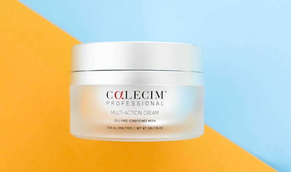 Calecims Stem Cell Skincare An Anti Ageing Game Changer