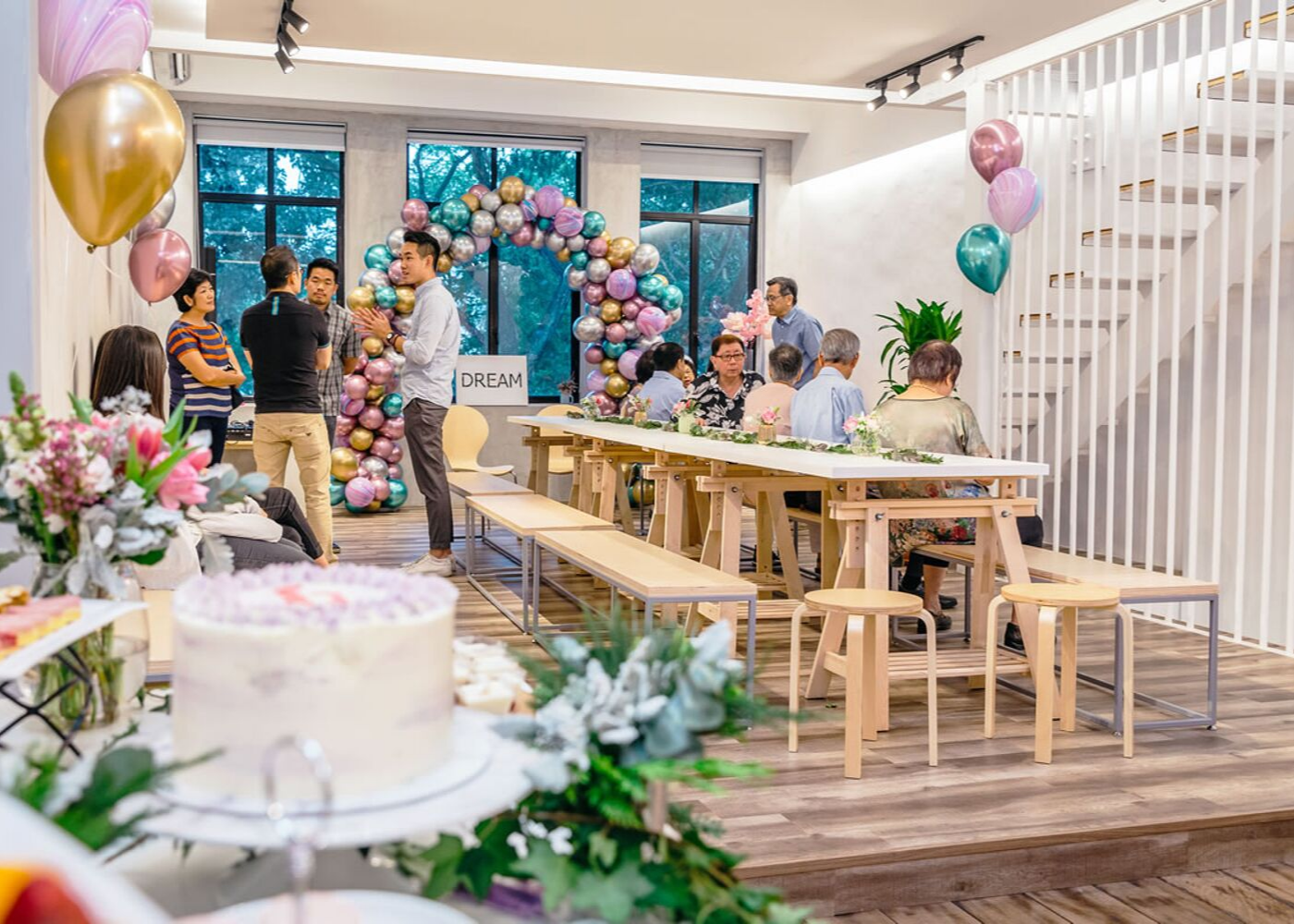 Kara Moments at Kara Cafe and Dessert Bar | Cool party venues in Singapore
