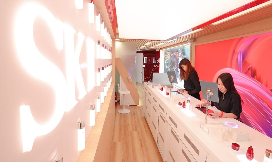 SK-II Future X Smart Store's innovative beauty retail experience