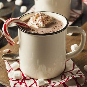I'm always up for hot chocolate…