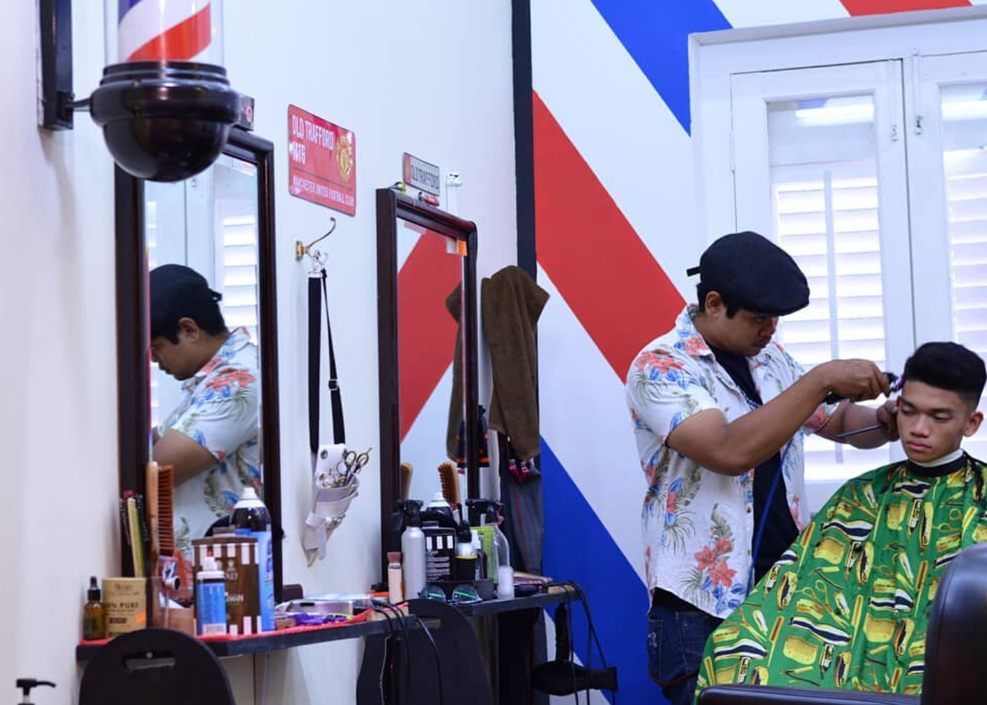 Barbershops in Singapore: The 'A' Street Barber Shop