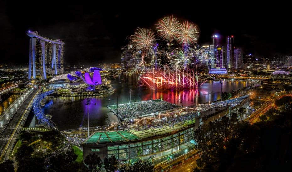 Marina Bay Festive Events | Honeycombers Singapore