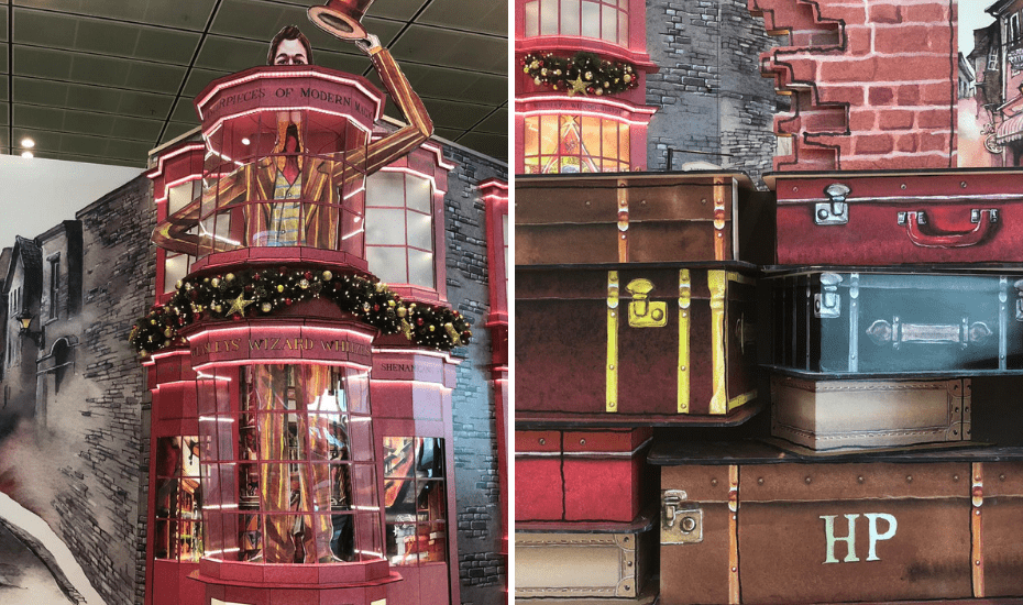 The world's best airport has recreated sets to make every Harry Potter fan ecstatic. Think Hogwarts, Diagon Alley, and Hogsmeade Village.