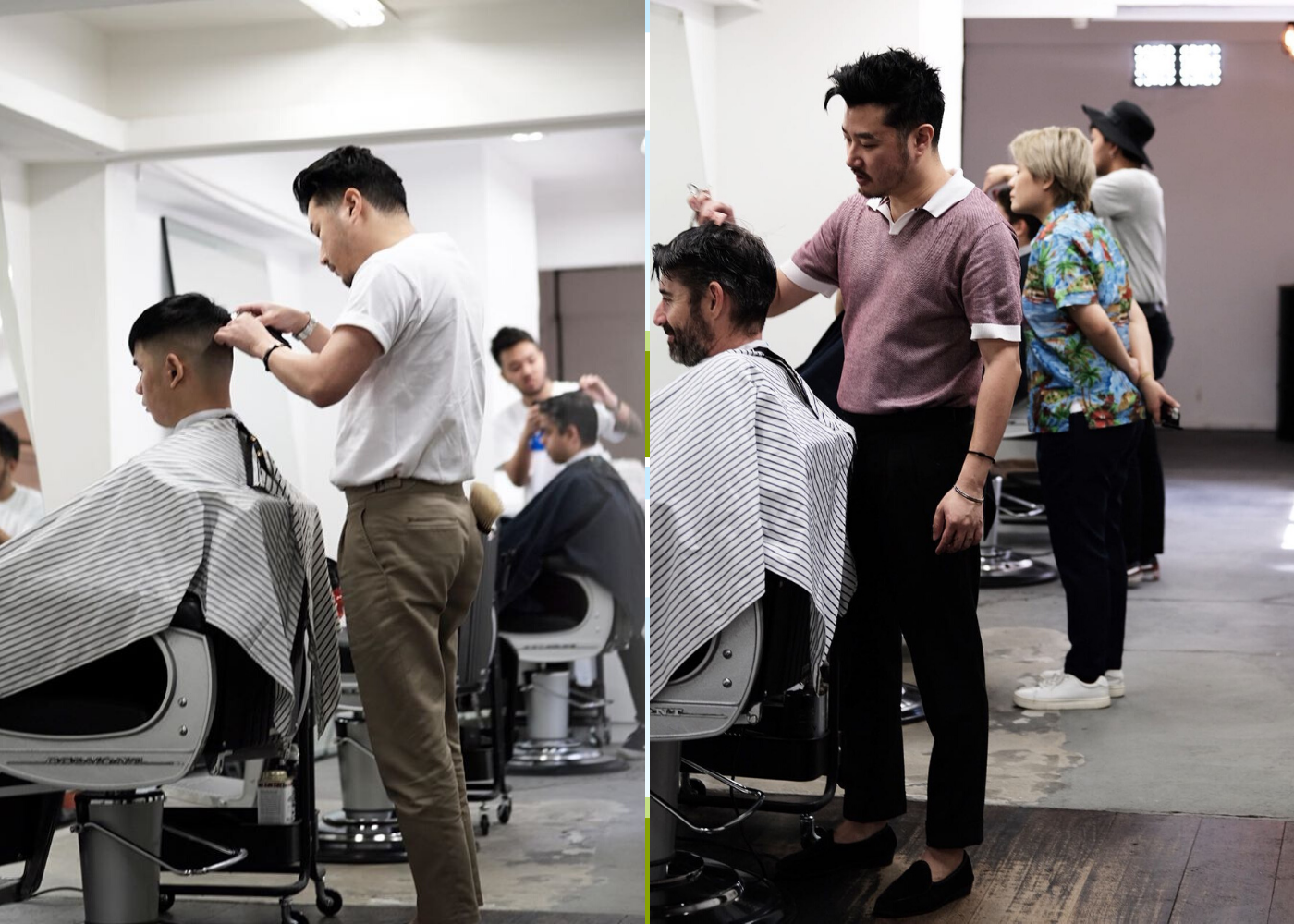 Barbershops in Singapore: Rogue and Beyond