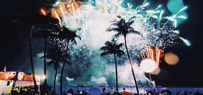 New Year's Eve countdown parties in Singapore: Siloso Beach Countdown Party