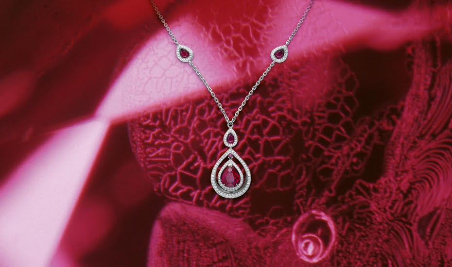 Ruby Necklace Glowing Ember | Gubelin