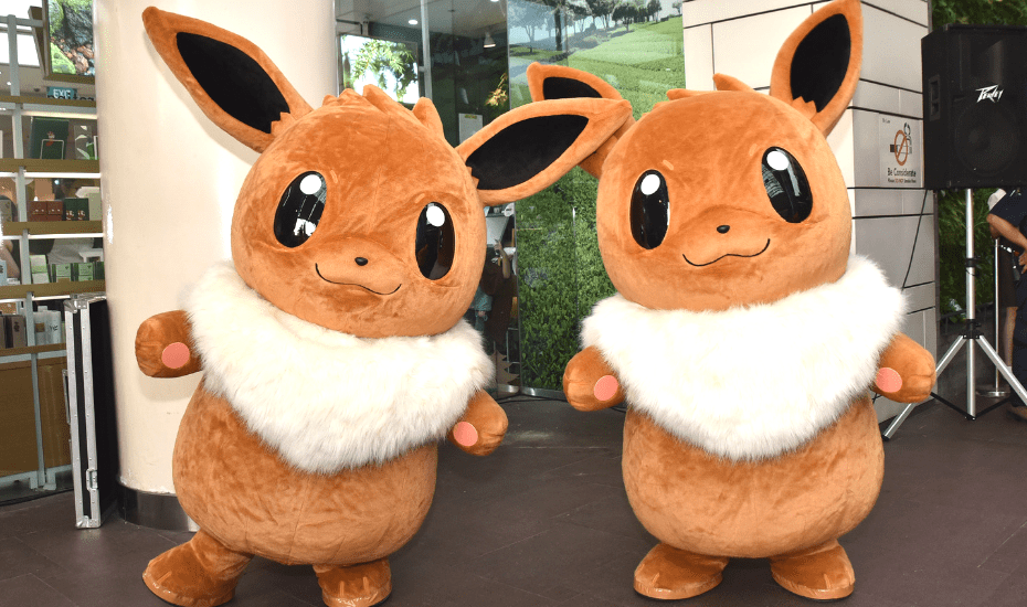 Pokemon are taking over these malls and here's what you need to know
