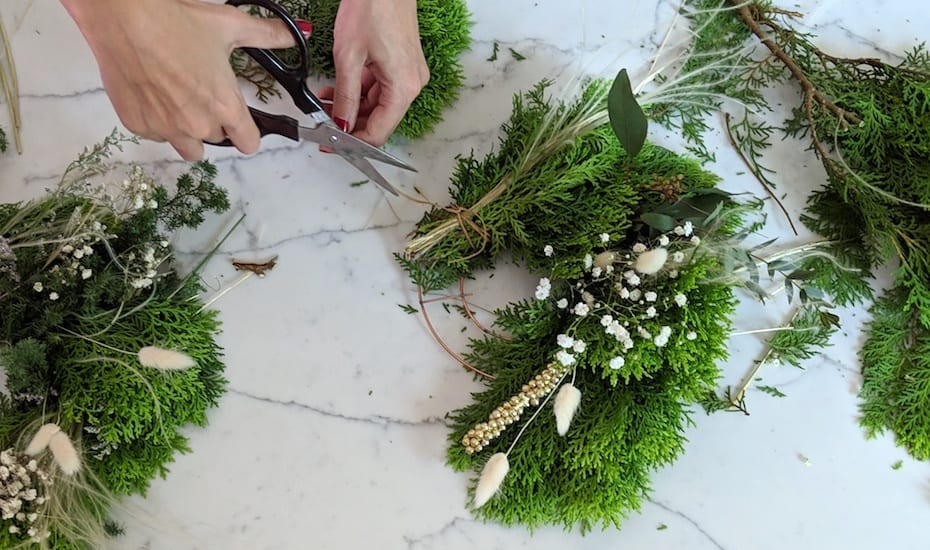 Christmas wreath DIY | Ask a French