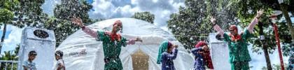 Snowfall every day at LEGOLAND Malaysia Resort's Brick-Tacular Christmas event