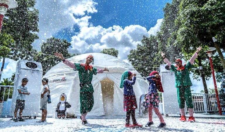 LEGOLAND Malaysia's Brick-Tacular Winter Wonderland is one awesome place to bring the kids for Christmas