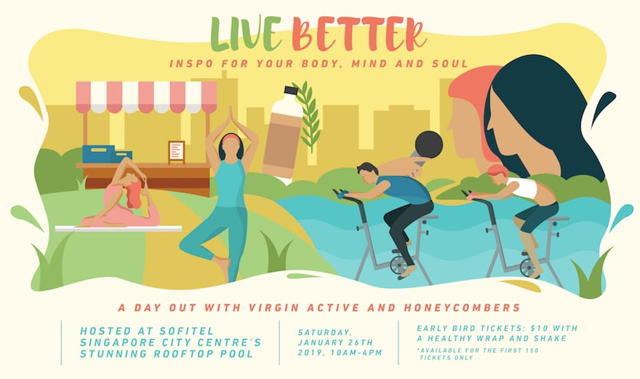 Live Better: A day of fitness and wellbeing workshops, inspiring talks and a marketplace!