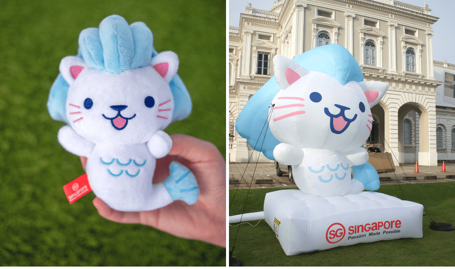 If you haven't bumped paths with this cutie yet, he's Singapore Tourism Board's newest ambassador and of course, he's based on the iconic Merlion.