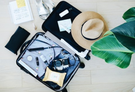What to pack in your carry on luggage: beauty travel essentials at Capitaland malls