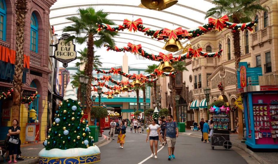 Universal Studios Christmas.A Universal Christmas At Universal Studios Singapore