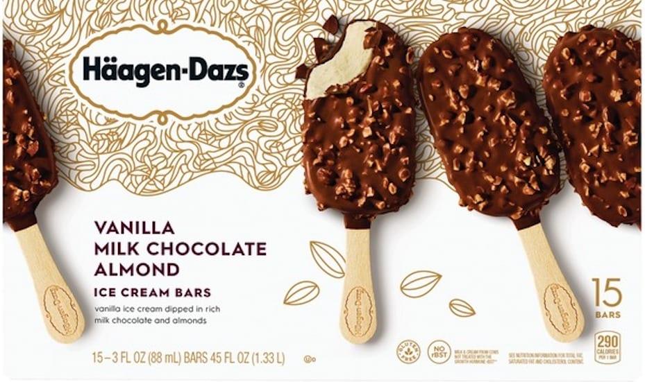 Haagen-Daz ice cream bars, $29.90 at Warehouse Club