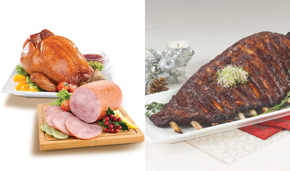 Christmas food at Warehouse Club: Pick up a roast chicken, ham or Iberico pork ribs