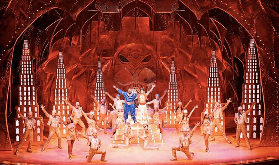 A whole new world will unfold before your eyes, magic carpet and all with Aladdin the Musical