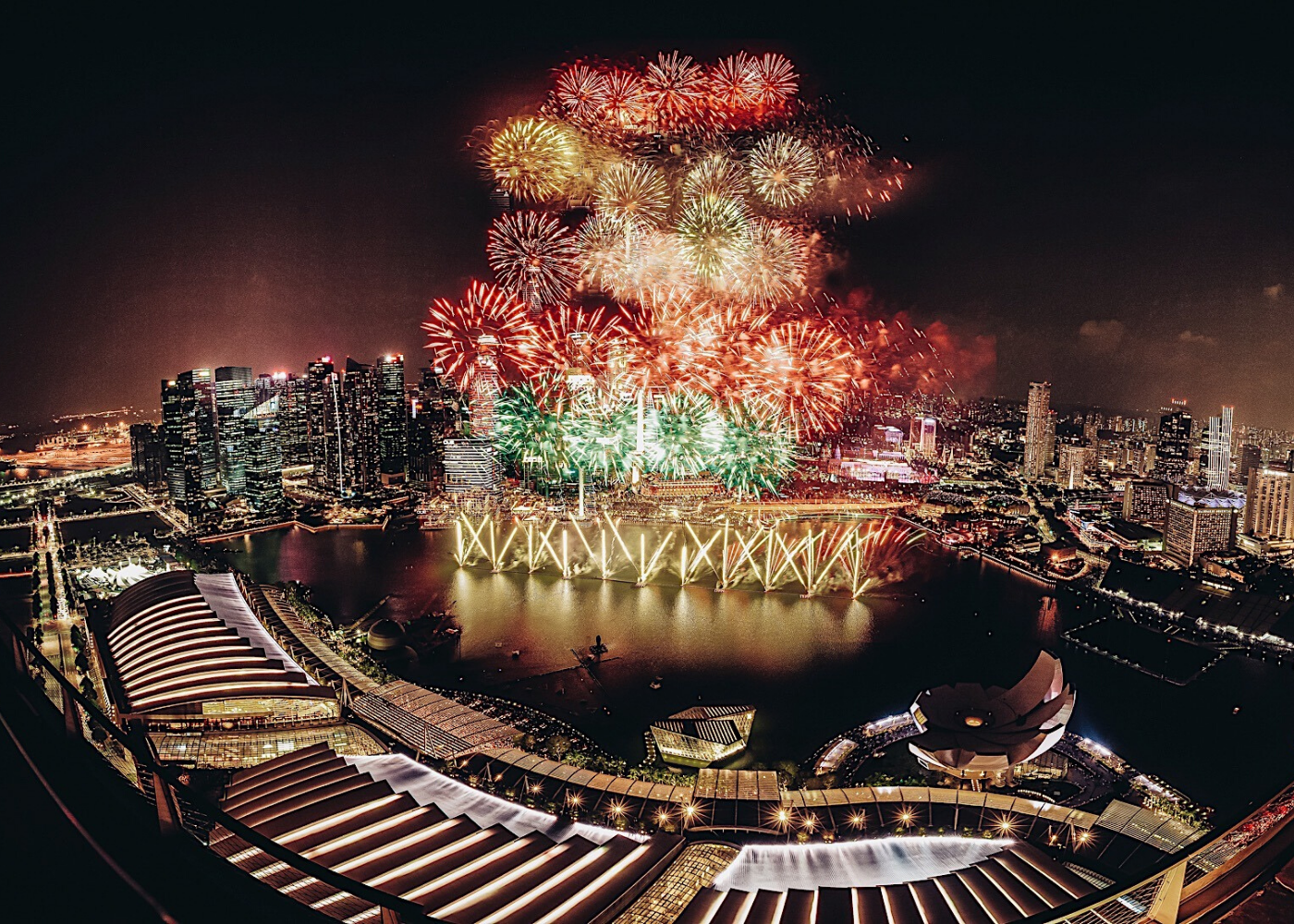 Where to watch fireworks in Singapore: Cé La Vi