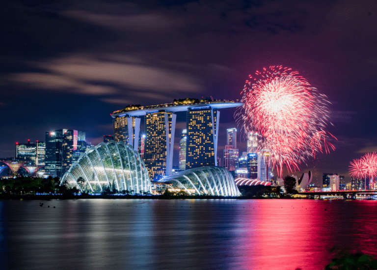 Dazzle in the city: Where to watch spectacular fireworks in Singapore on National Day, New Year's Eve and more